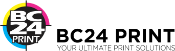 BC24 PRINT | Business Cards, Flyers, Signs, Postcards, Invitations & More Logo